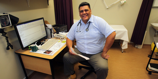 Dr Bryce Kihirini started medical school at the age of 27 in order to help get enough doctors in Te Puke to look after the population. Photo/John Borren