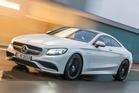 The Mercedes-Benz S63 AMG Coupe. Photo / Supplied