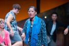 Nancy Brunning plays Te Mamaenui Martinez in Paniora!. Photo / Stephen A'Court