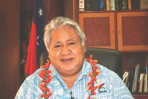Tuilaepa Aiono Sailele Malielegaoi, Prime Minister of Samoa. Photo / Terry Dunleavy