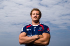 Scott Higginbotham of the Melbourne rebels. Photo / Getty Images