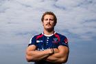 Scott Higginbotham of the Melbourne rebels. Photo / Getty Images