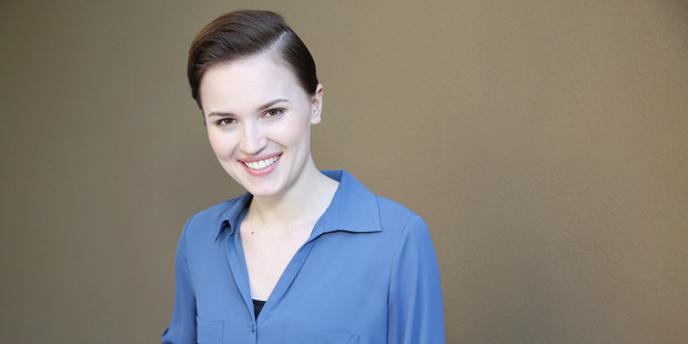 Veronica Roth, author of the book 'Divergent'. Photo / AP