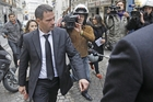 Former trader Jerome Kerviel leaves his lawyer's office in Paris in this 2012 photo. France's highest court has upheld his prison sentence, but cancelled the 4.9b euro fine. Photo / AP