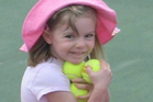 A photo of Madeleine McCann, just before she went missing from a Portuguese holiday complex. Photo / AP