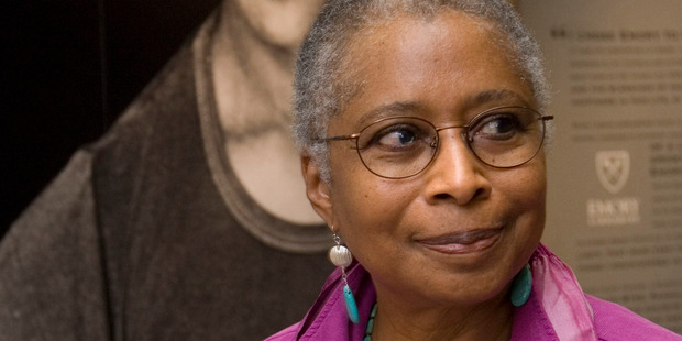 Alice Walker, author of 'The Color Purple', will be among the line-up of this year's Auckland Writers Festival. Photo / AP