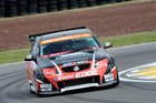 Last year's champion Greg Murphy is ahead of the field again going into the third round of the V8 SuperTourers series.