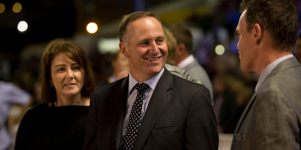 "Last September, after the Greens collected enough support to force a referendum on asset sales, Mr Key said it ""complete and utter waste of money"". Photo / Brett Phibbs"