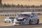 Jason Bargwanna's TLX competed in the NZV8 series.