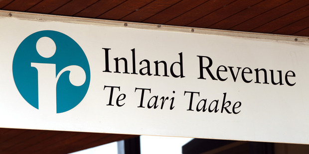 The Inland Revenue Department building in Manukau. Photo / Janna Dixon