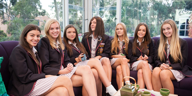Ja'mie King and her teenage girl friends would be a hard bunch to handle.