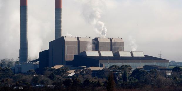 Huntly Power Station. Photo / Christine Cornege