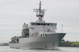 The HMNZS Wellington.