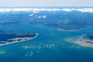 Kaipara Harbour entrance. Photo / Michael Cunningham