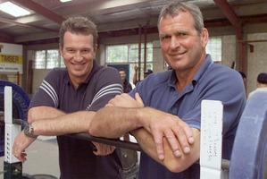 Frank Oliver took on John Kirwan as his assistant to coach the Blues in 2001. The year before, Oliver and Gordon  Hunter were in charge.  Photo / Paul Estcourt