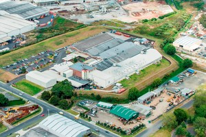 Griffin's Papakura factory is where the bulk of the company's biscuits are made. It has a factory area of 20,400sq m.
