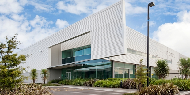 Beyond the modern facade of 8 Edsel Way, in the M20 Business Park, Manukau, is a warehouse  and large yard perfect for a range of storage options.