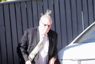 Businessman Rodney Green pictured outside court at his trial this week.