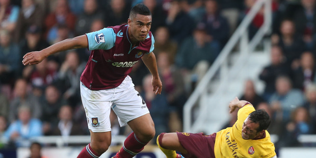 West Ham's Winston Reid is the only All White in the Premier League.