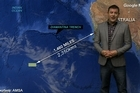 Head Weather analyst Philip Duncan gives a special weather update on the location where potential Debris have been spotted by satellite 2500 kilometres southwest of Perth.
