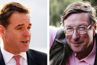 Niall Ferguson (left) and Max Hastings. Photo / AP, Supplied