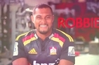 Robbie Fruean answers questions and talks about his move to Chiefs Country! Courtesy Chiefs Rugby/YouTube.