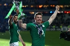 Brian O'Driscoll went out with a deal of theatrics. Photo / Getty Images