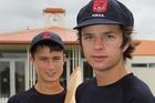 BRING IT ON: Alex Ryder (left) and Jarrod McLeod. PHOTO/Duncan Brown