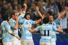 Sanzar was slow to show the love to Argentina after the 2007 World Cup.  Photo / Getty Images