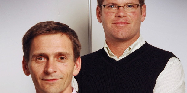 Simon Harvey (left) and Colin Bass (right) of BusinessLAB.