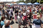 The Whanganui Riverside Festival on Taupo Quay, part of January's Vintage Weekend. Photo/File