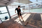 Gayle McMaster has a big clean up ahead of her at her restaurant 35 Degrees South in Paihia. Photo/Michael Cunningham