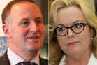 John Key, Judith Collins. Photos / APN, NZ Herald