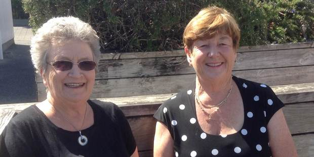 Judy Knott (left) and Mary McDonald (right) of  JCL Education and Fabulous Favours.