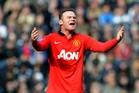 Manchester United's Wayne Rooney. Photo / AP