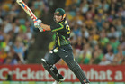David Warner made a quickfire 65 for Australia against New Zealand. Photo / Getty Images
