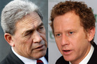 Winston Peters and Russel Norman. Photos / File