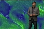 The North Island's driest places remain mostly dry this weekend however a more humid east to south east flow will see a few showers moving into eastern areas, from about Hawkes Bay through to Gisborne, then again from Coromandel Peninsula up to eastern Northland.  A few afternoon showers and even thunderstorms might pop up in some dry western areas.  Meanwhile the South Island remains settled under a ridge of high pressure.  An ex-cyclone well east of New Zealand may also start pushing in big swells to eastern beaches later this weekend.