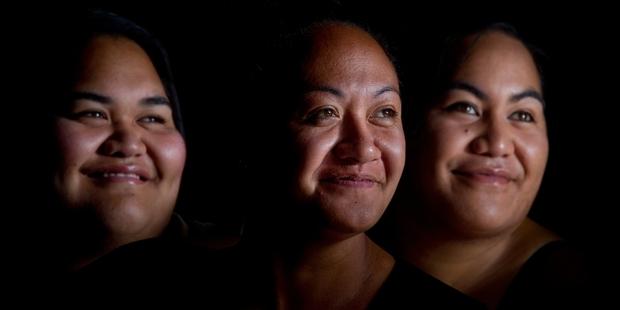 Ngati Rangiwewehi kapa haka members Jojo Waaka, Rauroha Clarke and Arohaina Waaka are all part of the national Wero, stop smoking competition.Photo/Stephen Parker