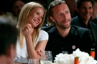 Gwyneth Paltrow and Chris Martin say they're still close. Photo / AP