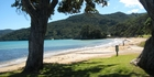 The beautiful Great Barrier Island.