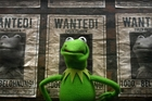 Russian amphibian Constantine stars in Disney's new Muppets film. Photo / AP