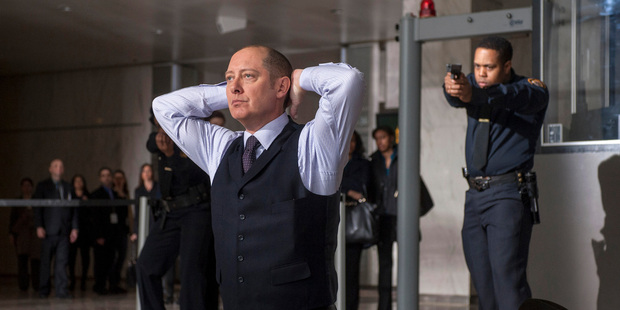 Hollywood heavyweight James Spader stars in The Blacklist.
