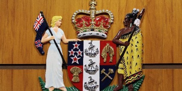 Claims of Maori sovereignty forced a judge to remove a man from court.