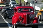 The annual Beach Hop festival rolled into Waihi on Wednesday for a warm-up party as thousands of classic cars and hotrods head to the Coromandel for 4 days of revelry.