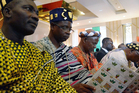The 15-member Economic Community of West African States appealed for help from the international community. Photo / AFP