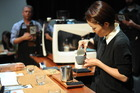 Hanna Teramoto, from Espresso Workshop in Parnell, has been crowned the top barista in the country.