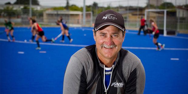 New Zealand women's hockey coach Mark Hager. Photo / Getty Images.