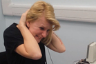Joanne Milne listening to her doctor for the first time. Image / YouTube