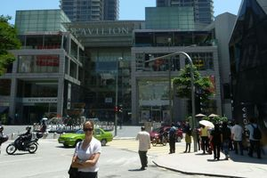Nada Young, Asia market director for Incite, pictured outside the Pavilion Mall in Kuala Lumpur, Malaysia.